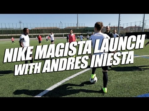Nike Magista Launch Event with Andres Iniesta
