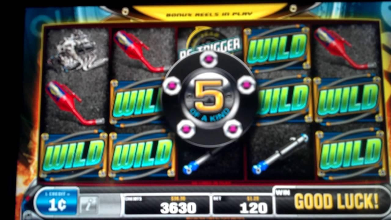 nascar slot machine