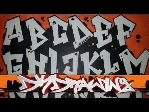alfabet grafiti (part 1)