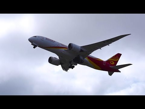 HAINAN AIRLINES BOEING 787-8 [B-2738] DELIVERY FLIGHT FROM KPAE!!!