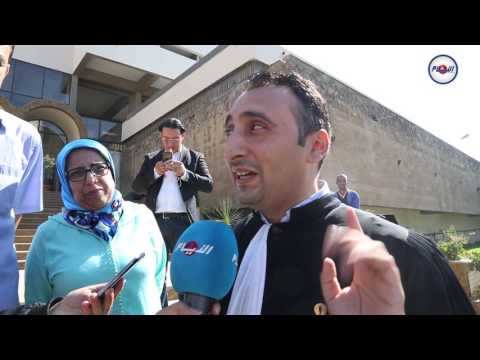 إسحاق شارية وقضية ناصر الزفزافي