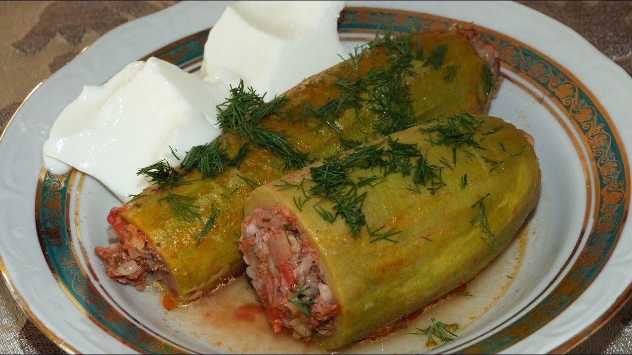Кабачки по-турецки рецепт
