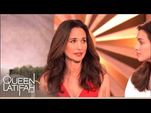 Share Your Story Of Strength With Andie MacDowell on The Queen Latifah Show