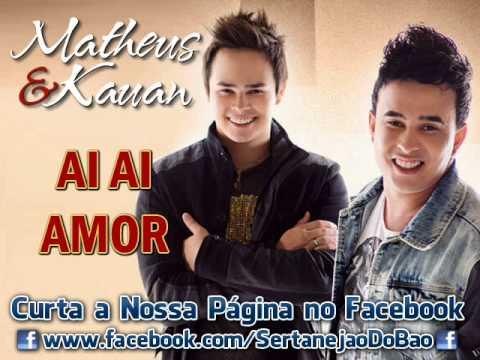 Matheus e Kauãn - Ai Ai Amor (Lançamento TOP Sertanejo 2013 - Oficial DVD)