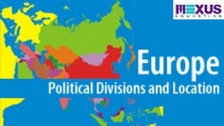 europe political divisions and location youtube