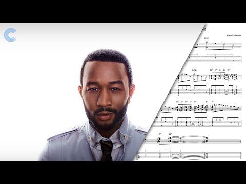 Soprano Sax - All of Me - John Legend - Sheet Music, Chords, & Vocals