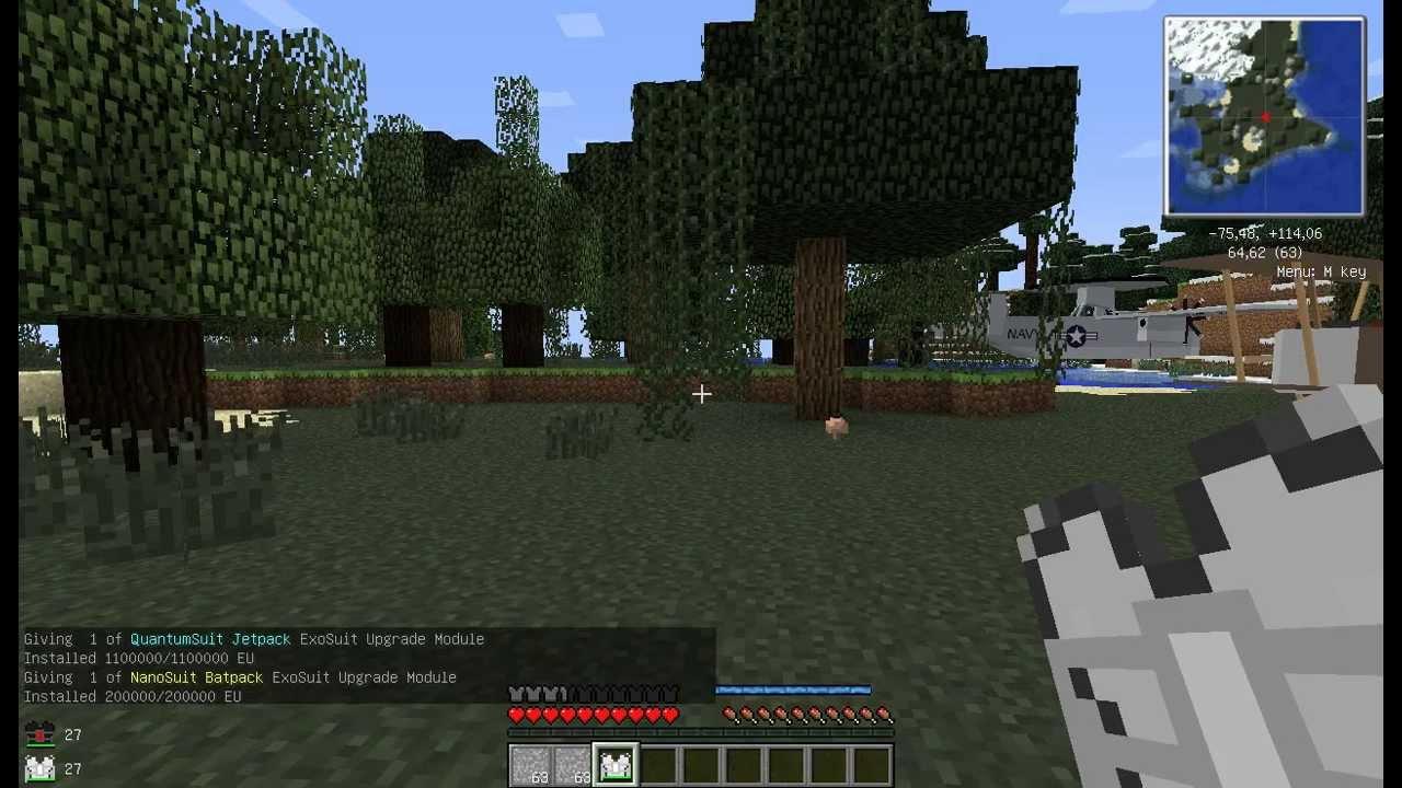 Скачать RPG сборка Minecraft 1.6.4 от fenque [MCPC+ ...