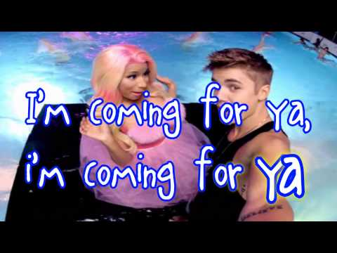 Justin Bieber - Beauty And A Beat (ft. Nicki Minaj) - Lyrics Video HD