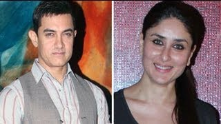 Aamir khan and Kareena Celebrates Talaash Success