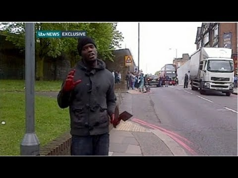 Woolwich knife attack caught on film - Truthloader