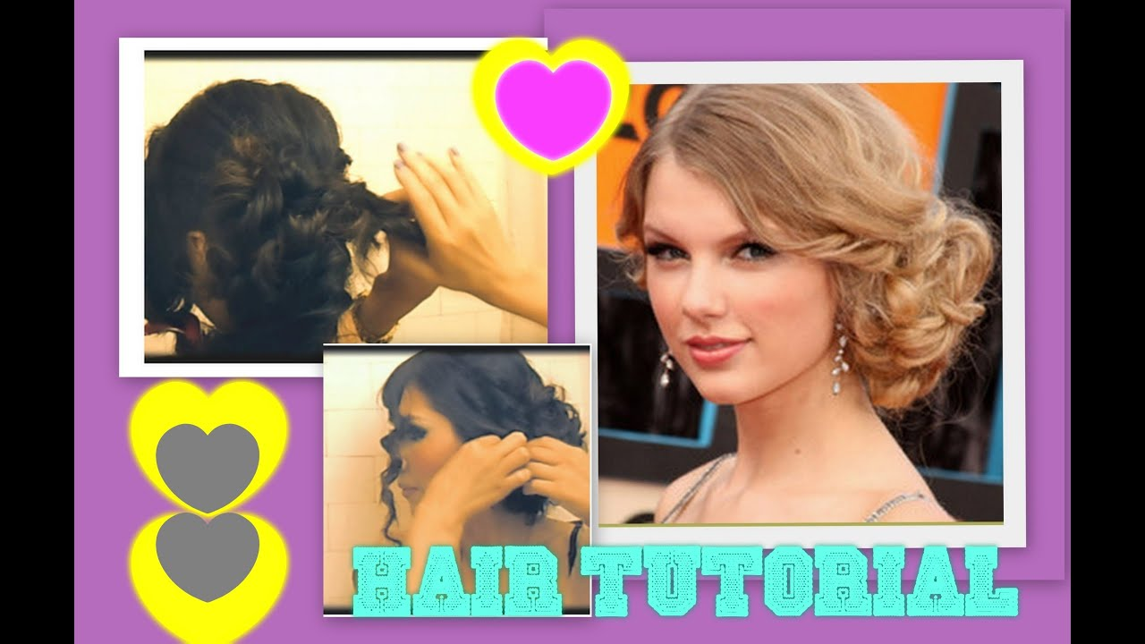 Taylor Swift Hair Tutorial Cute Hairstyles Curly Messy