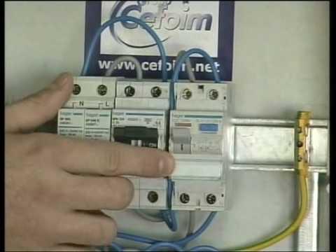 Bricolage cuadro el ctrico protecciones youtube - Cuadro electrico vivienda ...