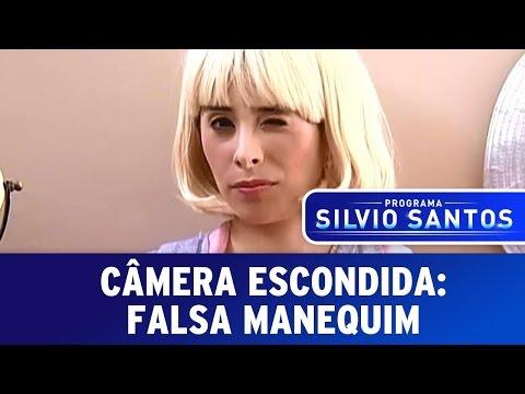 Pegadinhas do Falso Manequim – Silvio Santos 01-09-2013