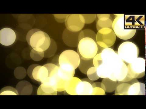 Golden Bokeh Background 4K by MondayMotion - After effects templates VideoHive