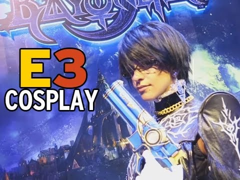 """COSPLAY and COSTUMES"" E3 2013 Day 3 w/ Cupquake"