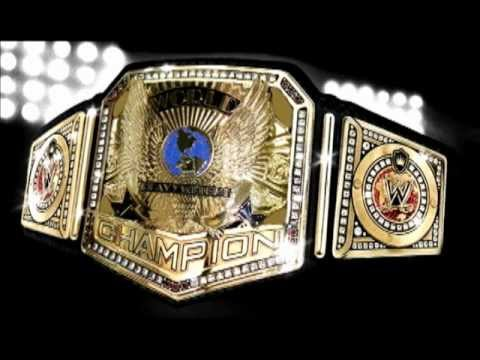 Redone History of the WWWF/WWF/WWE Championship Title Belt.