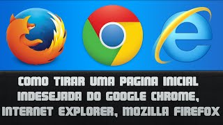 Como Tirar Uma Pagina Inicial Indesejada Do Google Chrome