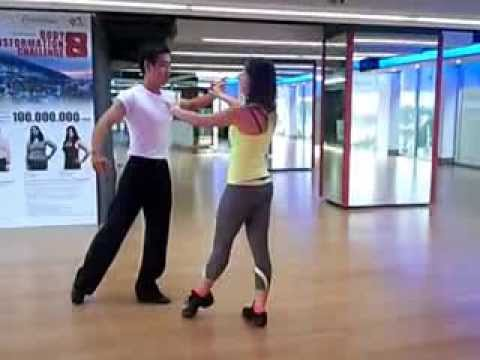 MC NGUYÊN KHANG TẬP NHẢY DANCE SPORT