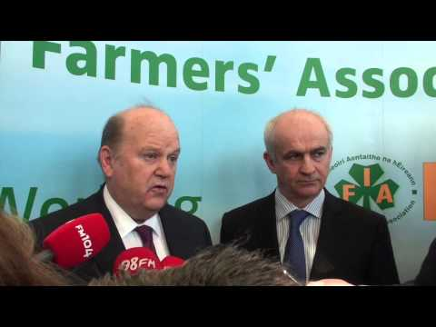 Minister Michael Noonan meets with IFA to discuss agri-taxation issues