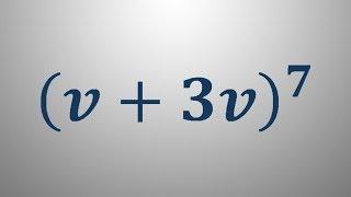 Uporaba binomskega izreka 3
