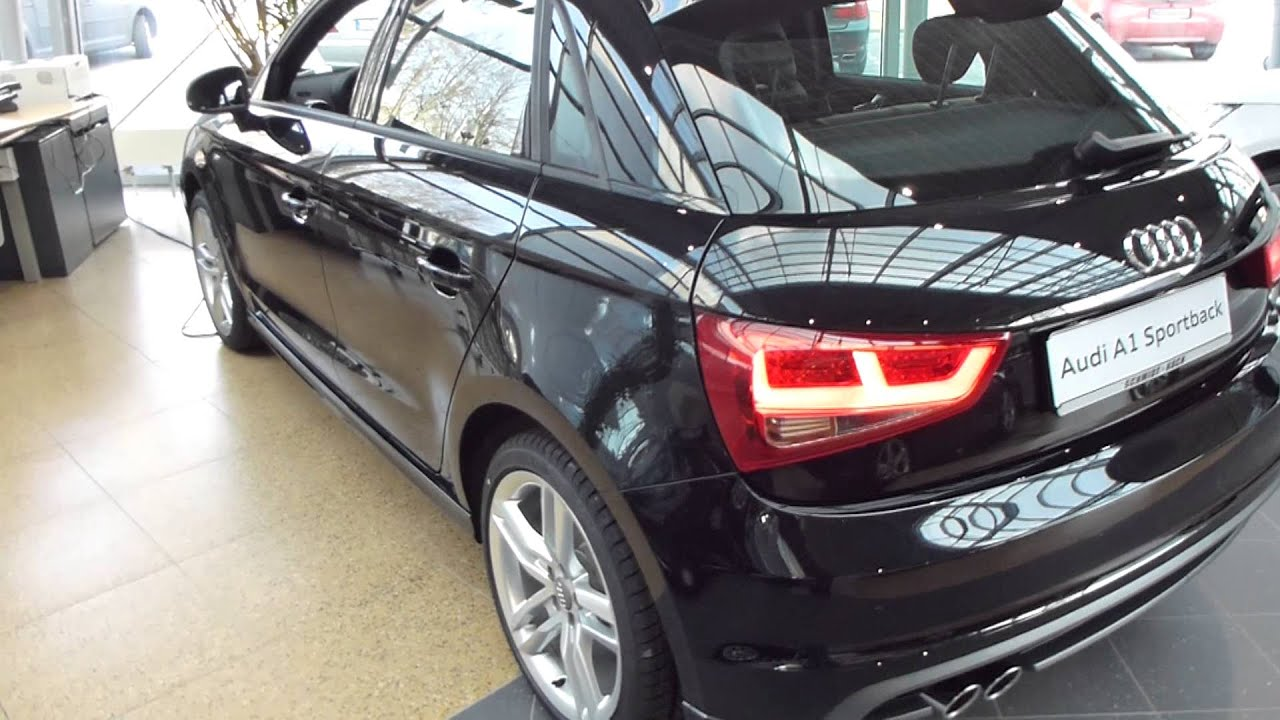 2013 audi a1 sportback 39 39 s line 39 39 exterior interior 1 4 tfsi 122 hp 203 km h see also. Black Bedroom Furniture Sets. Home Design Ideas