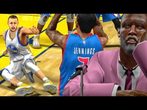CURRY GETS ANKLES BROKEN & GRANDPA LOVES IT! NBA 2k16 My Career Xbox 360 Gameplay Ep. 8