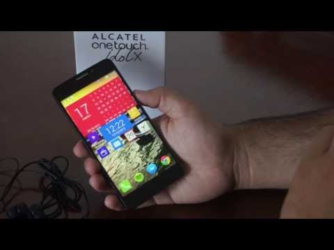 Alcatel One Touch Idol X, review en español
