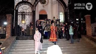 Светлую  Пасху отметили в Артёме