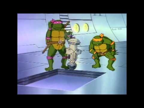 Teenage mutant ninja turtles - Enter the Shredder (In memory of James Avery)