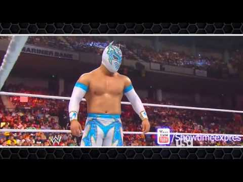 WWE Sin Cara and Rey Mysterio 'Can't Get Enough' Masked Marvels HD