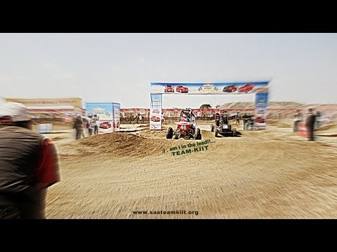 TEAM-KIIT BAJA Indore Event video - 2013