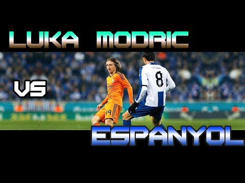 Luka Modric vs Espanyol Away ( 11 - 01 - 2014 / 11/01/2014 - 11.01.2014 ) [HD]