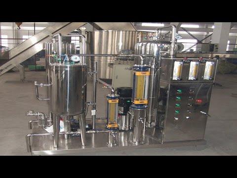 carbon dioxide mixer automatic C02 beverage drinks blending mixing equipment juice water agitator