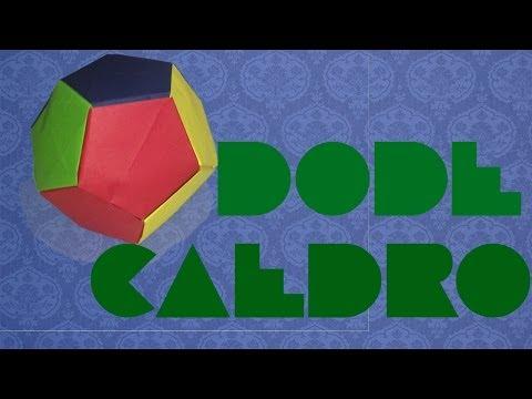 Dodecaedro || Origami Modular