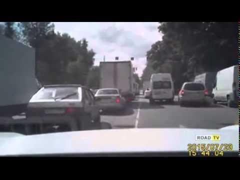 Погоня в стиле GTA на московских дорогах