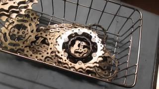 Paraffin Wax Chain Lube Conversion