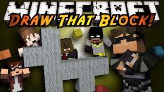 Minecraft Mini-Game : DRAW THAT BLOCK!