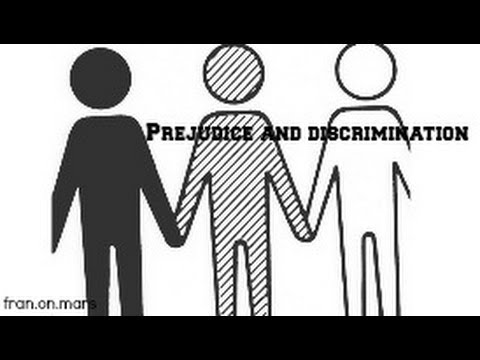 essay on the difference between prejudice and discrimination