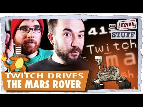 Twitch Drives The Mars Rover!