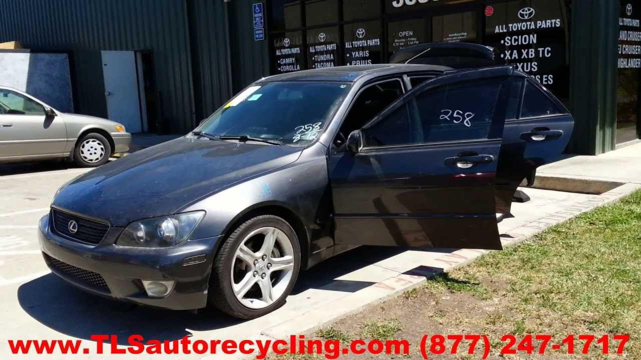 parting out 2004 lexus is 300 - stock - 3091rd - tls auto recycling
