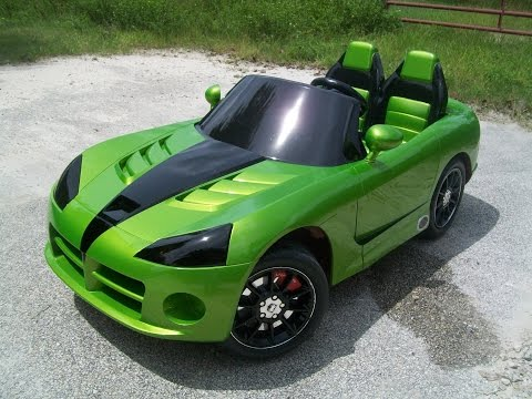 Vulgar Display Of Power Wheels Custom Kid Trax Dodge Viper Venom