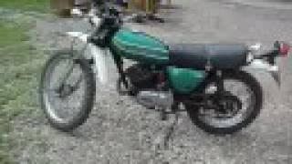 Kawasaki KE 125 Scrambler