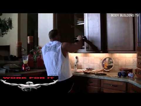 Jay Cutler - Making Breakfast 8 Weeks to MR OLYMPIA 2013