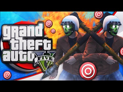 GTA 5 - THE LONGEST RPG SHOT EVER! (GTA 5 Online World Record Kill)