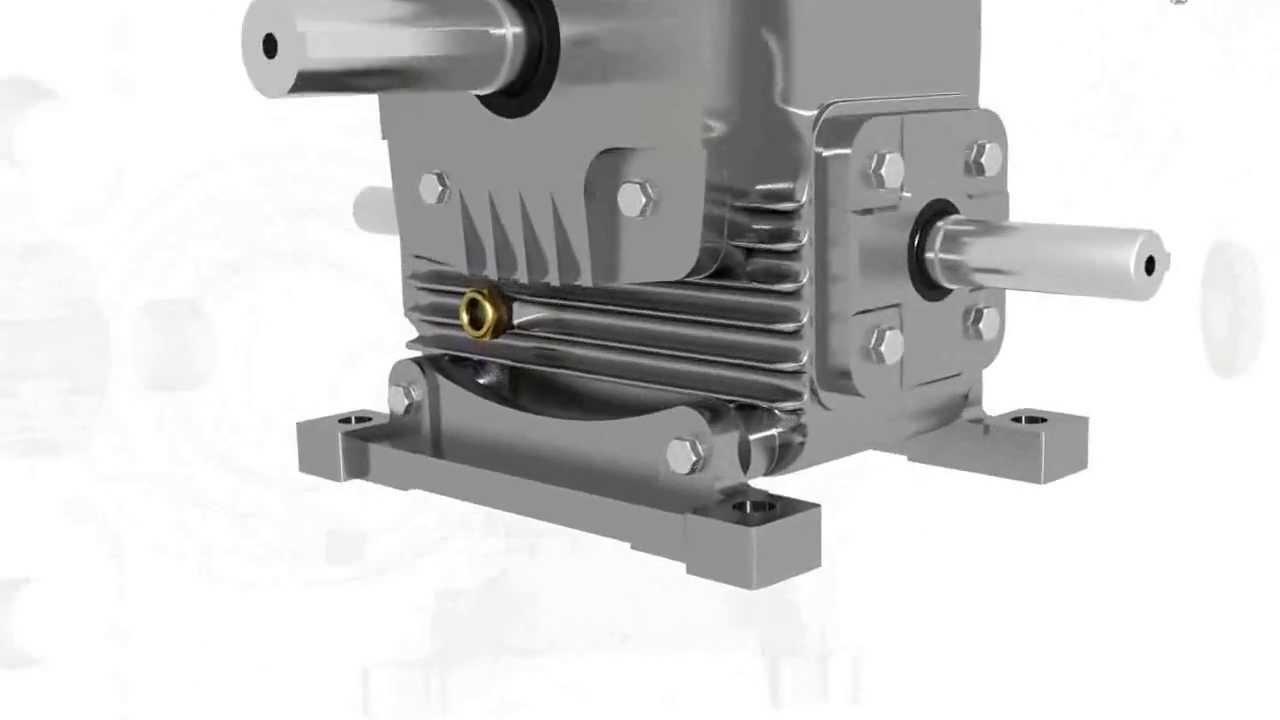Worm Gearbox Worm Reduction Gear Box Worm Speed Reducer