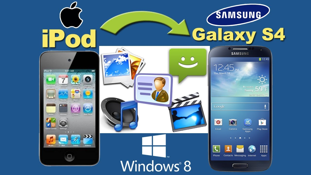 iPod to Galaxy S4 [Music Transfer]: Transfer All Files ...