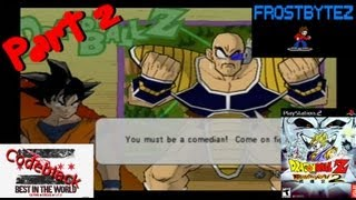 Let Codeblack Play Dragonball Z: Budokai 2 Part 2 - Guess What Day It Is