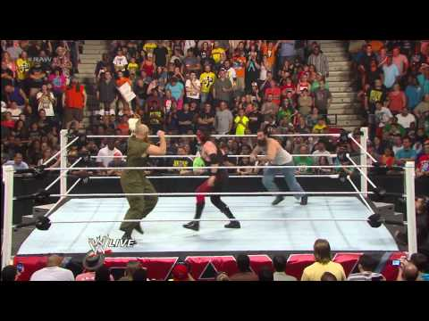 The Wyatt Family's WWE Debut