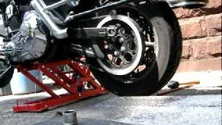 Harley Rear Tire Removal PT 3