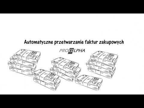 Automatyczne przetwarzanie faktur zakupowych